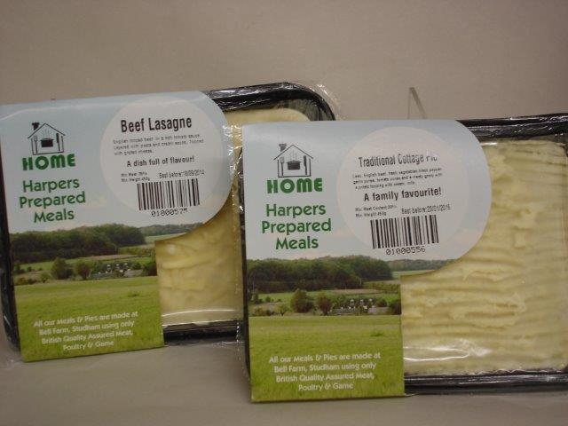 Harpers 'on farm' range at Beechwood Fine Foods sm