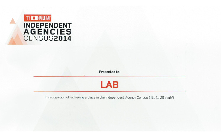 Lab - Top 10 Elite Independent Agency