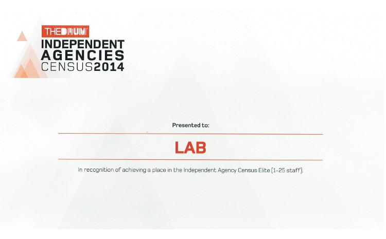 Lab - Top 10 Elite Independent Agency