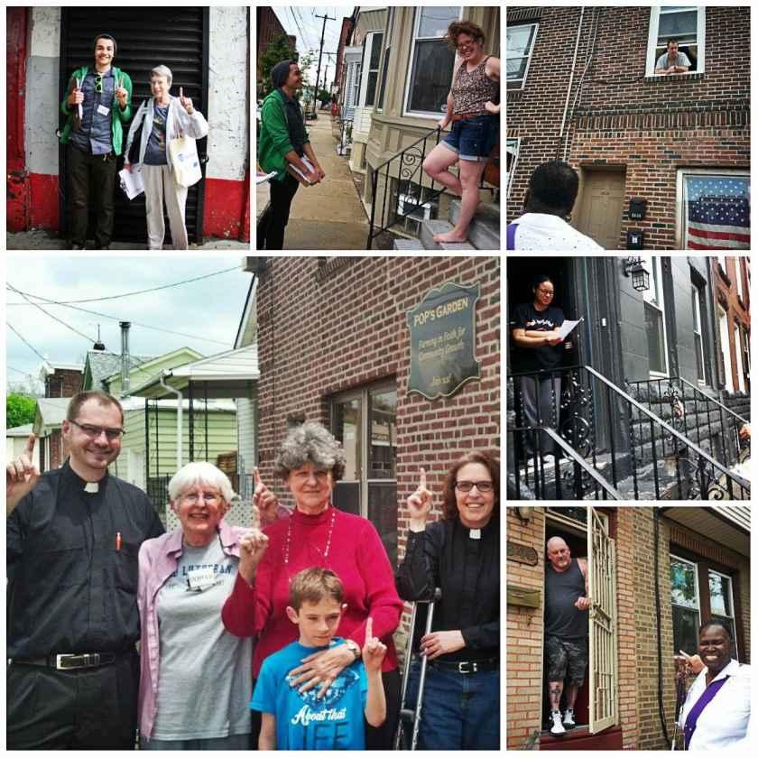 """POWER Clergy Leaders Canvassing Neighborhoods Encouraging """"Unlikely Voters"""""""