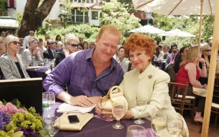 Alzheimer's Association, Orange County CEO Jim McAleer with actress Marion Ross