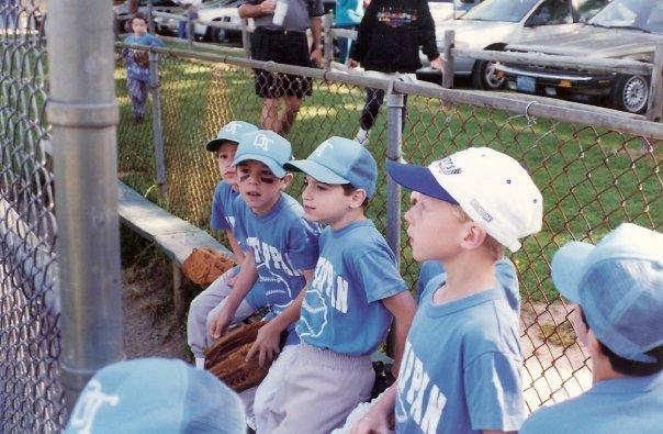 8u Baseball Team