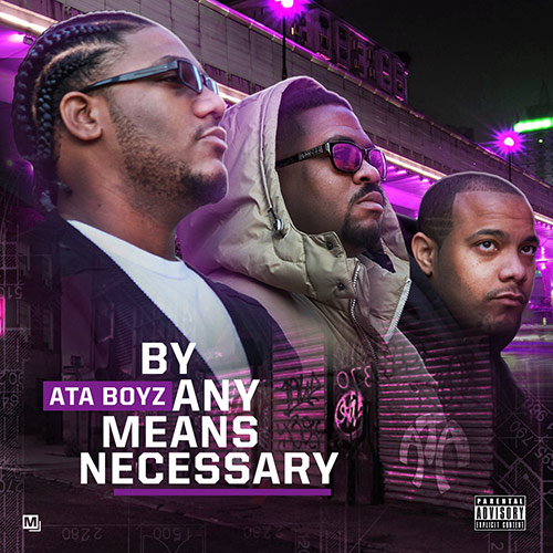 By Any Means Necessary - Album Cover
