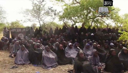 Kidnapped Nigerian School girls