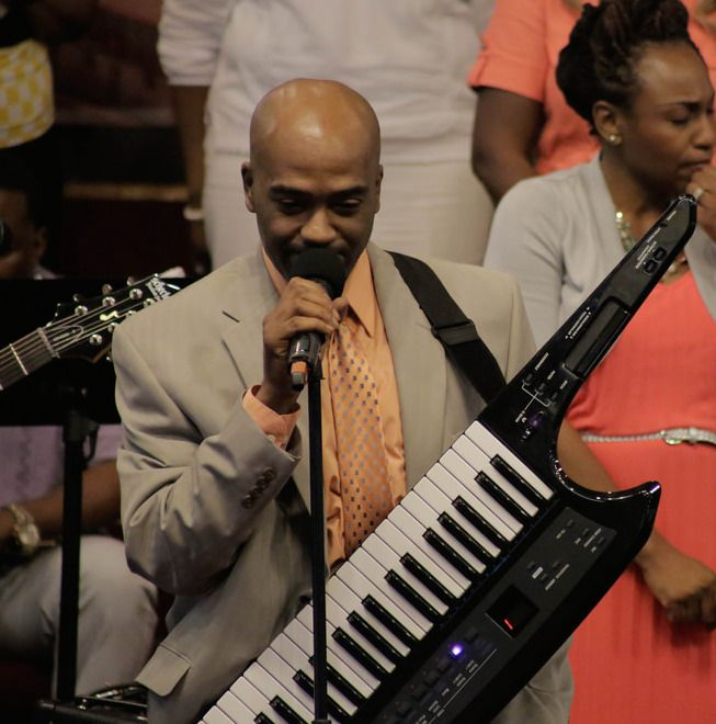 Marcus L. Walker and the Keytar