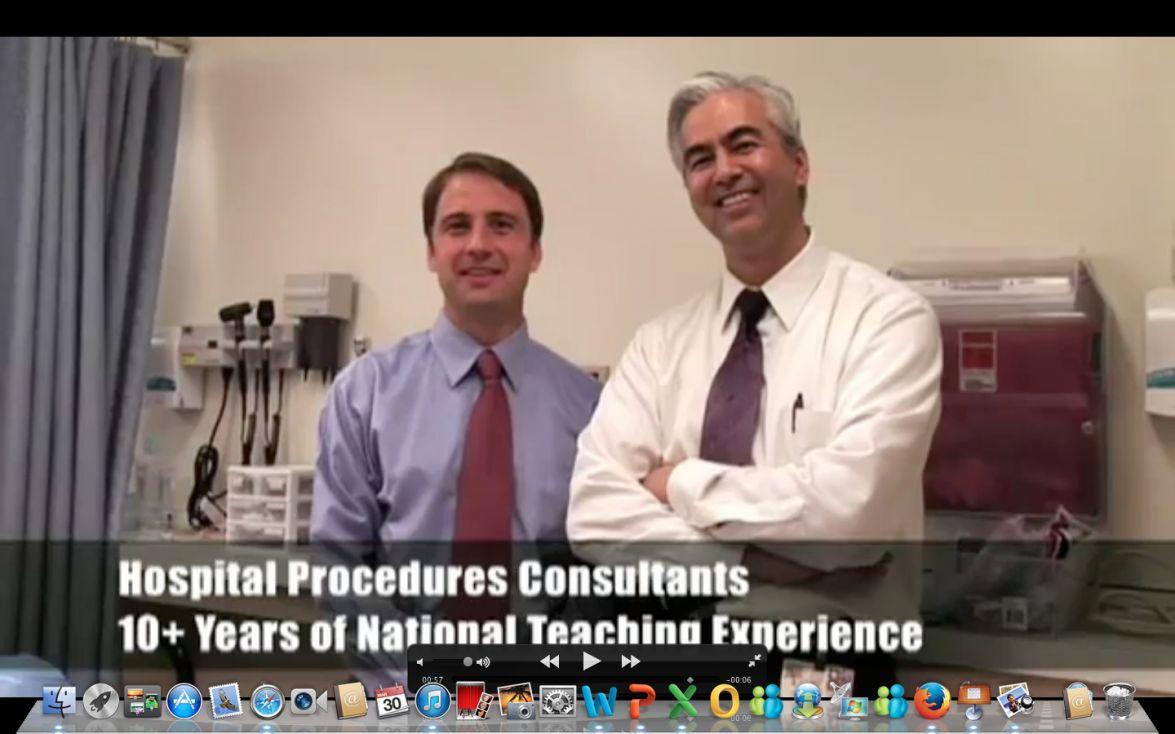 Hospital Procedures Consultants Instructors