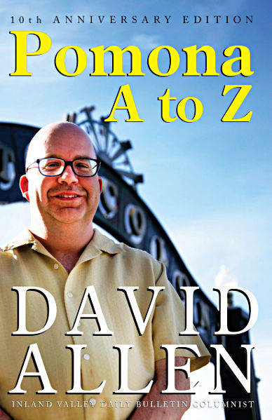 """Pomona A to Z"" by David Allen (front cover)"
