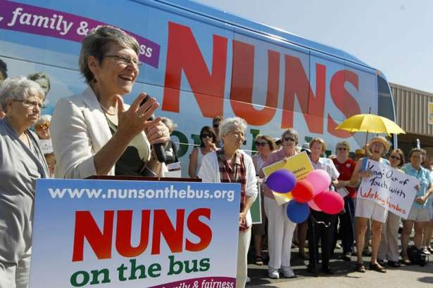 Sr. Simone Campbell - Nuns On The Bus