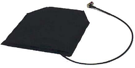Pharad Wearable VHF Antenna for Assault Vests