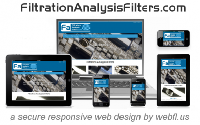 Filtration Analysis Filters taps Responsive Web Design & Miami Web Development