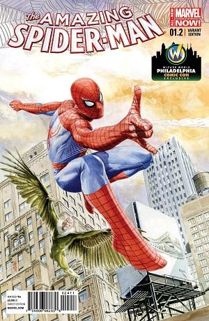 Amazing Spider-Man #1.2 by JG Jones