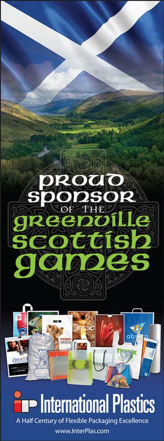 Proud sponsor of the Greenville Highland Scottish Games