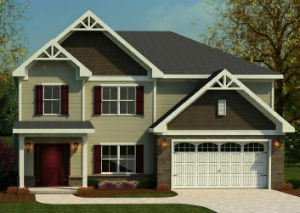 Kennesaw floor plan at Freeman Crossing