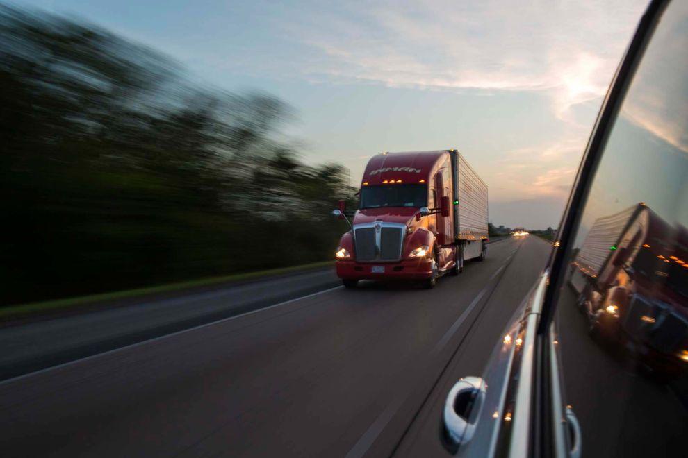 Inman Trucking headed east