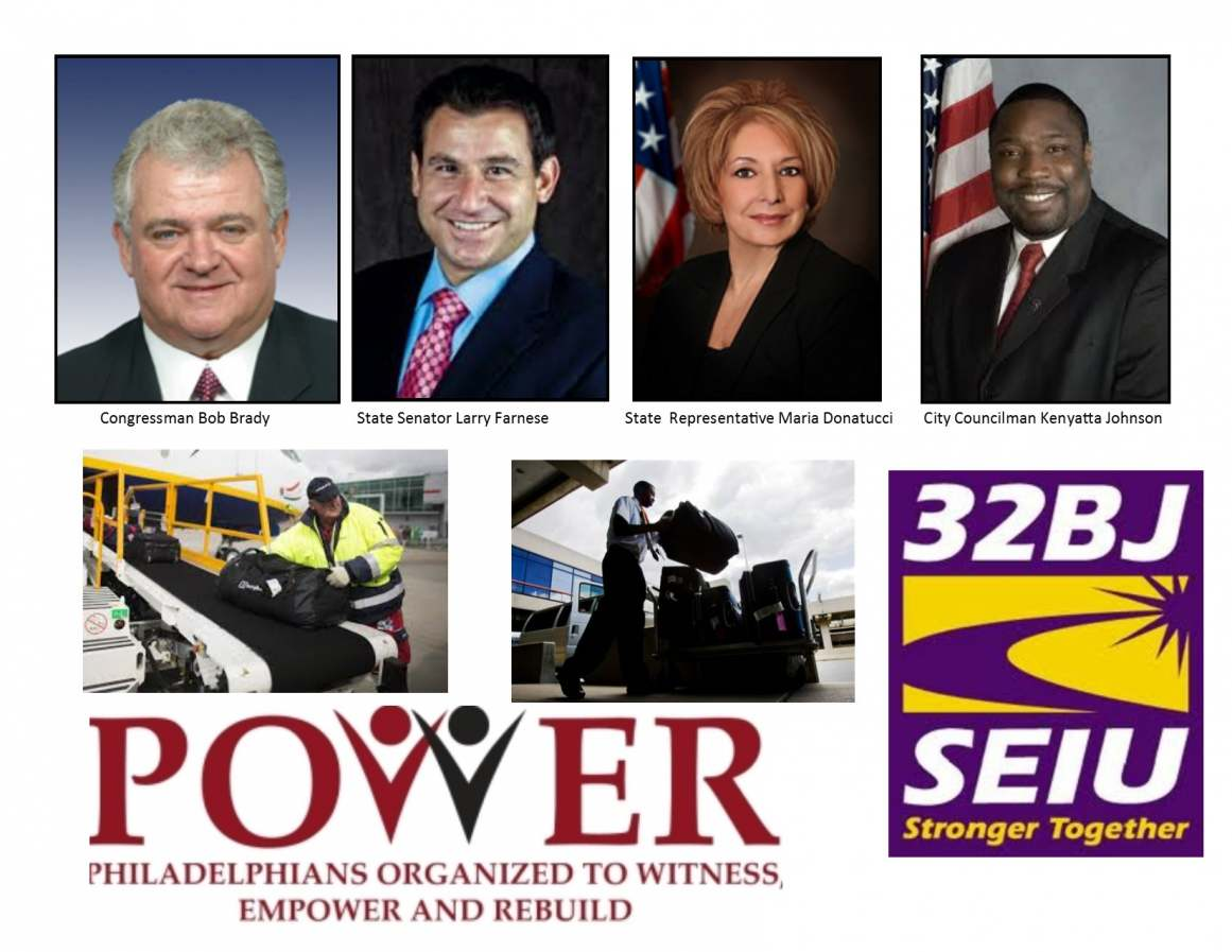 Politicians Join POWER & Union Allies For Pre-Primary 'Get Out To Vote' Rally