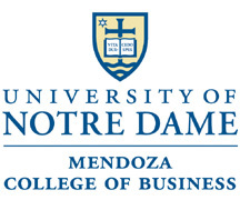 University of Notre Dame Mendoza College of Business MBA