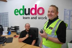 edudo tutors use Skyguard's MySOS personal alarms