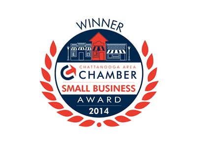 Winners of 2014 Chattanooga Area Chamber Small Business Award