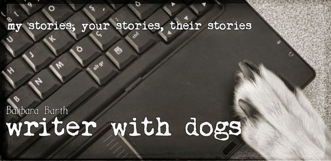 Writer With Dogs blog logo