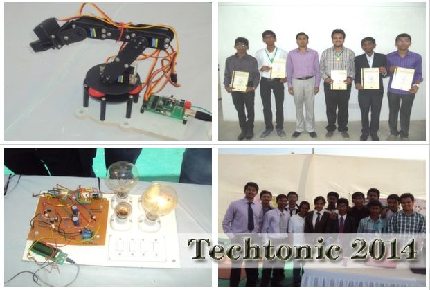 Techtonic 2014 at Rai University, Ahmedabad