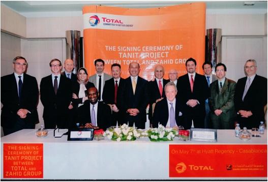 Total France & Zahid Group Saudi Arabia