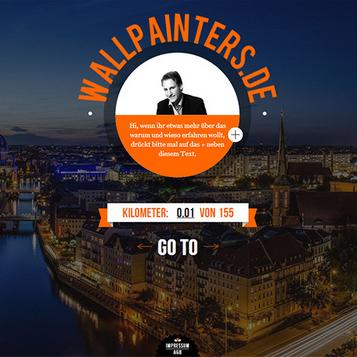 Wallpainters.de - Website for graffiti