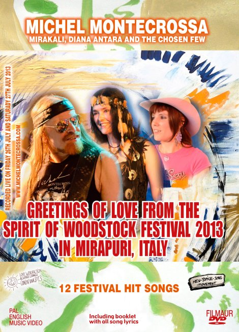 DVD 'Greetings Of Love from the Spirit of Woodstock Festival 2013 in Mirapuri'