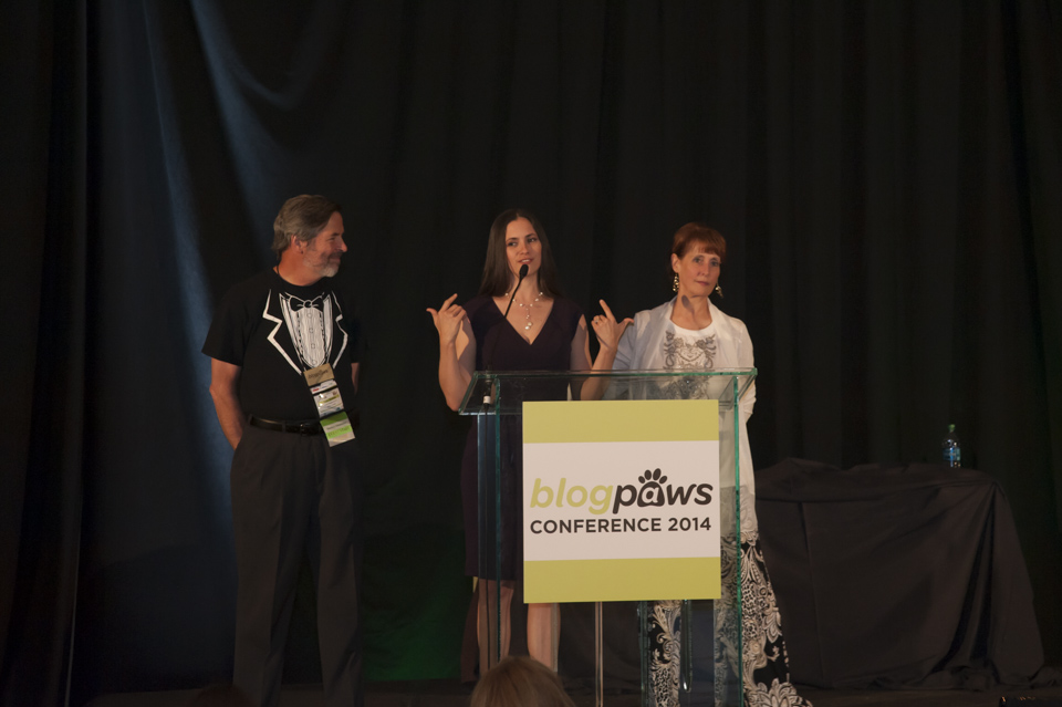 BlogPaws Executives at the Awards Ceremony