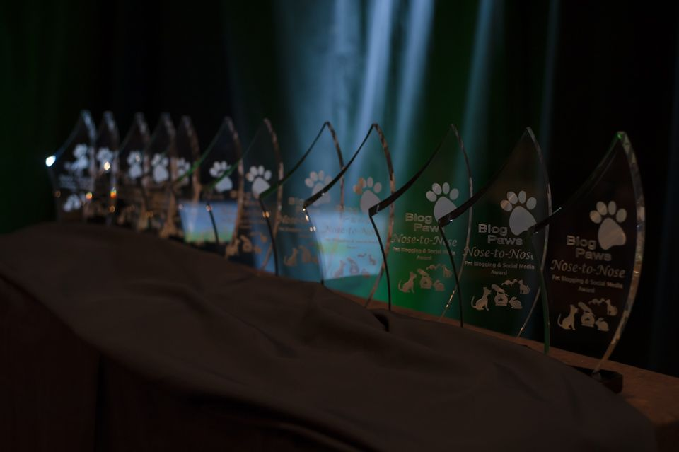 BlogPaws Trophies Awarded