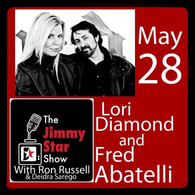 Lori Diamond and Fred Abatelli on The Jimmy Star S
