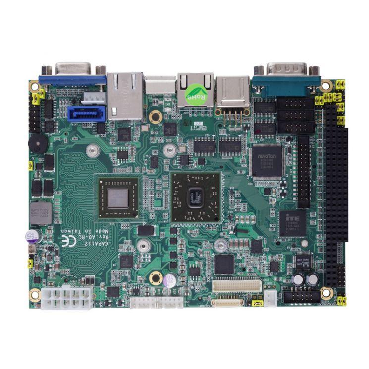 """Axiomtek's CAPA112: 3.5"""" Embedded SBC"""