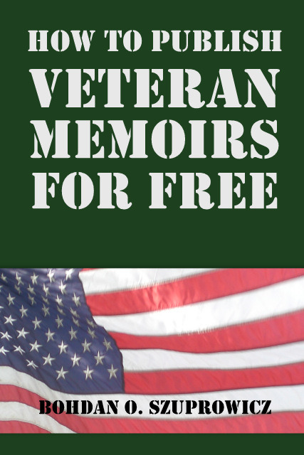 Book Cover of the E-Guide About Writing Veteran Memoirs