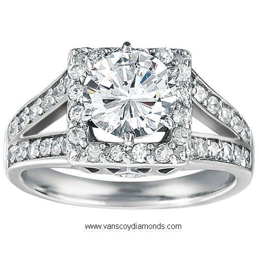 Diamond Engagement Ring- Vanscoy Diamonds