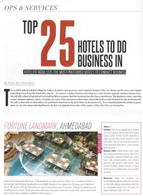 Hotelier India Magazine Page