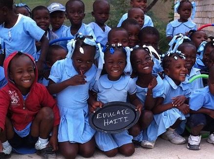 The Change for Haiti 5k, Kid K & Change Drive helps support education in Haiti.