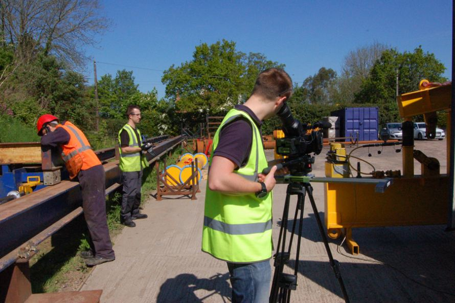 Modulift Filming