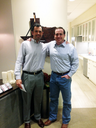 McCarthy Project Manager Preston Hodges and Project Superintendent Michael Kacal