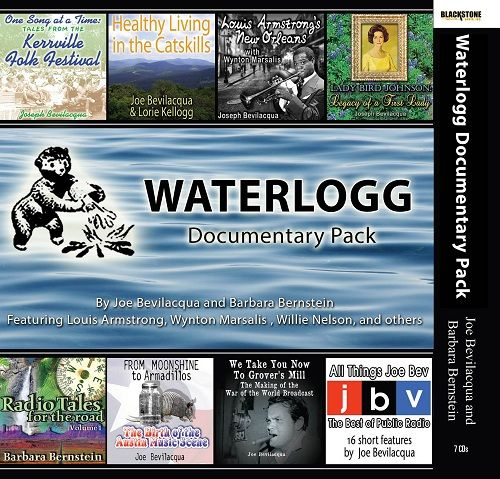 One of the many successful Waterlogg audio collections featuring Joe Bevilacqua.