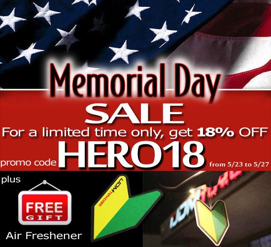www.iJDMTOY.com 2014 Memorial Day Sale