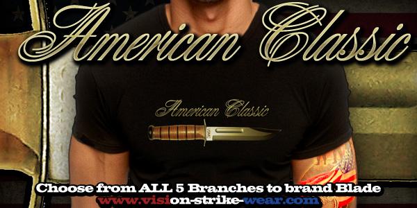 American Classic Kabar Battle Rattle Shirt