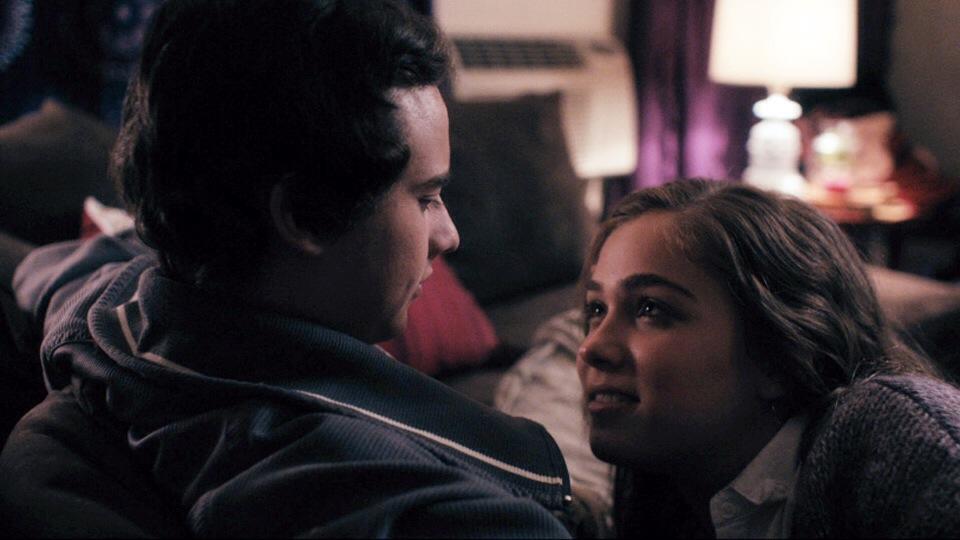 Haley Lu Richardson and Ryan Malgarini (Freaky Friday) in THE YOUNG KIESLOWSKI