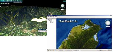 20140519 SuperGIS 3D Earth Server via Browser