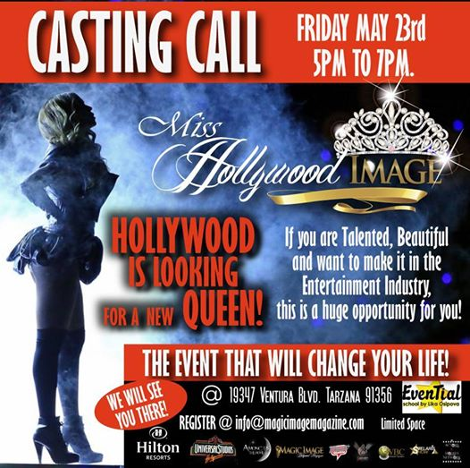 Miss Hollywood Casting Call 5.23.14