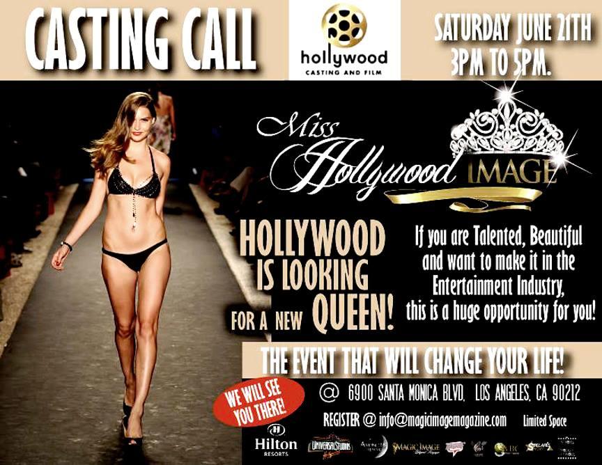 Miss Hollywood Magic Image July 2014