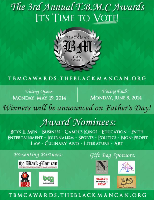 The 3rd Annual Black Man Can Awards