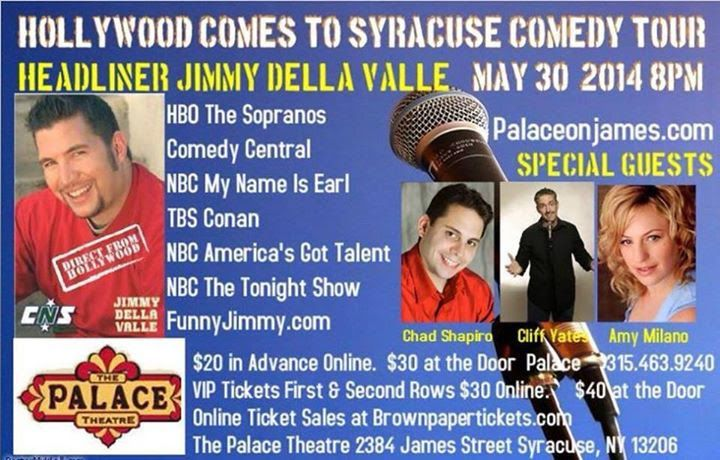 Jimmy Della Valle at The  Palace Theater May 30