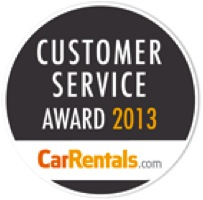 Customer Service Award 2013