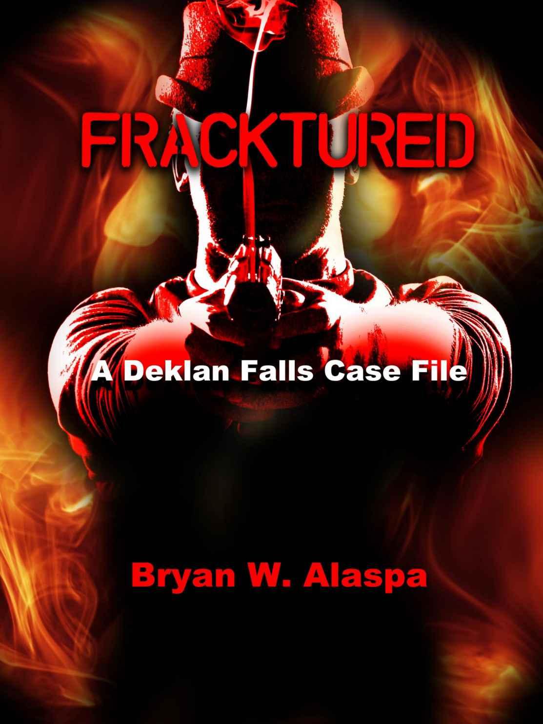 Detective novel Fracktured Cover