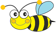 Colour Bee Painting Logo
