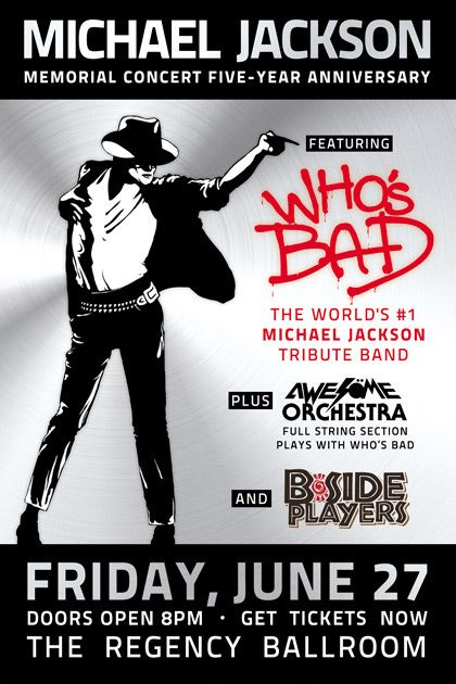 Who's Bad S.F. Show in Memory of King of Pop